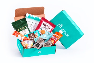 Fitness Nutrition Subscription Monthly Box Fit Snack